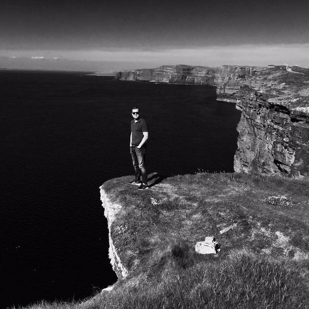 Peter Fitzpatrick survived a fall from the Cliffs of Moher when he was 13