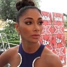 Nicole Scherzinger made a face when asked about Cheryl