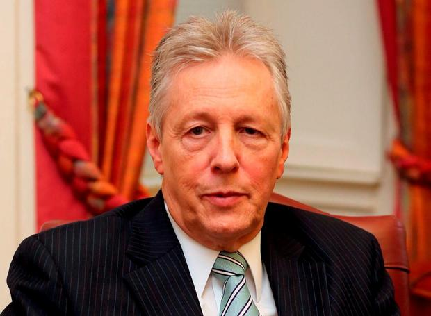Peter Robinson. Photo: Niall Carson/PA Wire