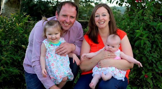 John and Brenda Hannon returned home from five years in Perth, Australia, with a baby girl, another on the way and hope for a new future in Ireland.