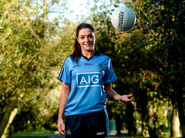 Dublin's Sinead Goldrick will be fired up for the game. Picture: Paul Mohan / SPORTSFILE