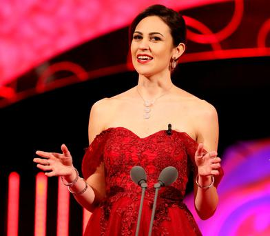 Sydney Rose Brianna Parkins voiced her support for the repeal of the Eighth Amendment at this year's Rose of Tralee. Picture Credit: Frank McGrath