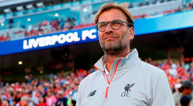 Liverpool manager Jurgen Klopp Picture: Getty