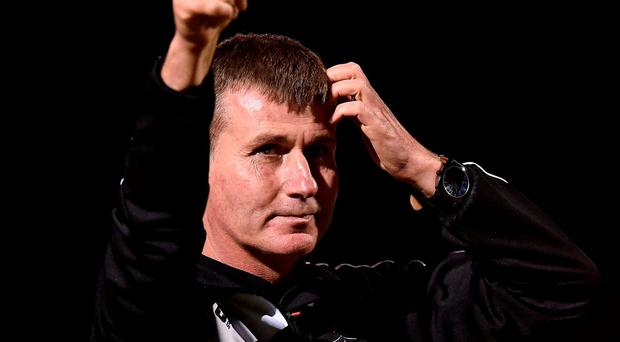 Dundalk manager Stephen Kenny after the SSE Airtricity League Premier Division game between Wexford Youths and Dundalk at Ferrycarrig Park in Wexford. Photo by David Maher/Sportsfile