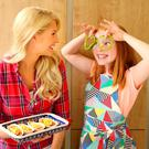 Yvonne Connolly and daughter Ali Connolly Keating (10) at the launch of the new 'Stand 'N Stuff' Mini Soft Tacos by Old El Paso. Picture: Marc O'Sullivan