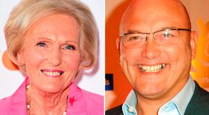 Mary Berry and MasterChef judge Gregg Wallace. Photo: Ian West/PA Wire