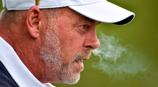 'Clarke knows about match-play. In 1990, his last year as an amateur, he set standards which we haven't witnessed since, even from Rory McIlroy'. Photo: Brendan Moran/Sportsfile