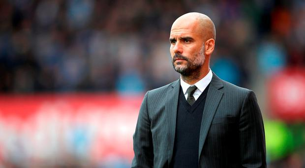 'Pep Guardiola has made tough selection calls at previous clubs, including the exclusion of Zlatan Ibrahimovic and Ronaldinho at Barcelona'. Photo: Nick Potts