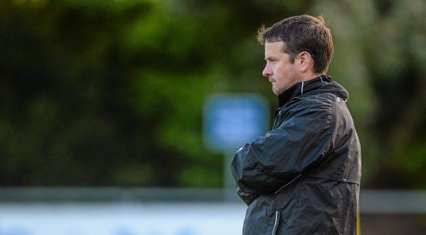 UCD manager Collie O'Neill (pictured), who introduced Dylan Watts to UCD's first team last year, has high hopes for the 19-year-old. Photo: Sportsfile