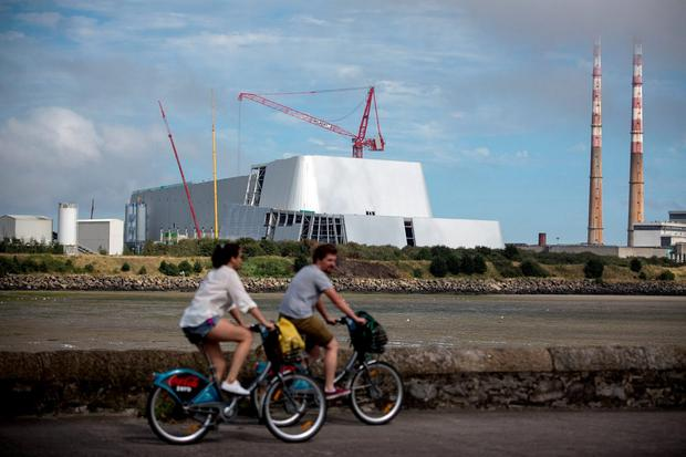 CONTROVERSY: Residents had previously voted against Dublin's Poolbeg incinerator being built. Photo: Mark Condren