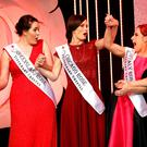 A ROSE BY ANY OTHER NAME: Chicago Rose Maggie McEldowney shows her surprise at being announced the winner of the 2016 Rose of Tralee competition. Photo: Frank McGrath