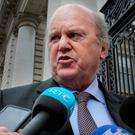 MONEY TO PLAY WITH: Michael Noonan has some tough decisions to make. Photo: Tom Burke