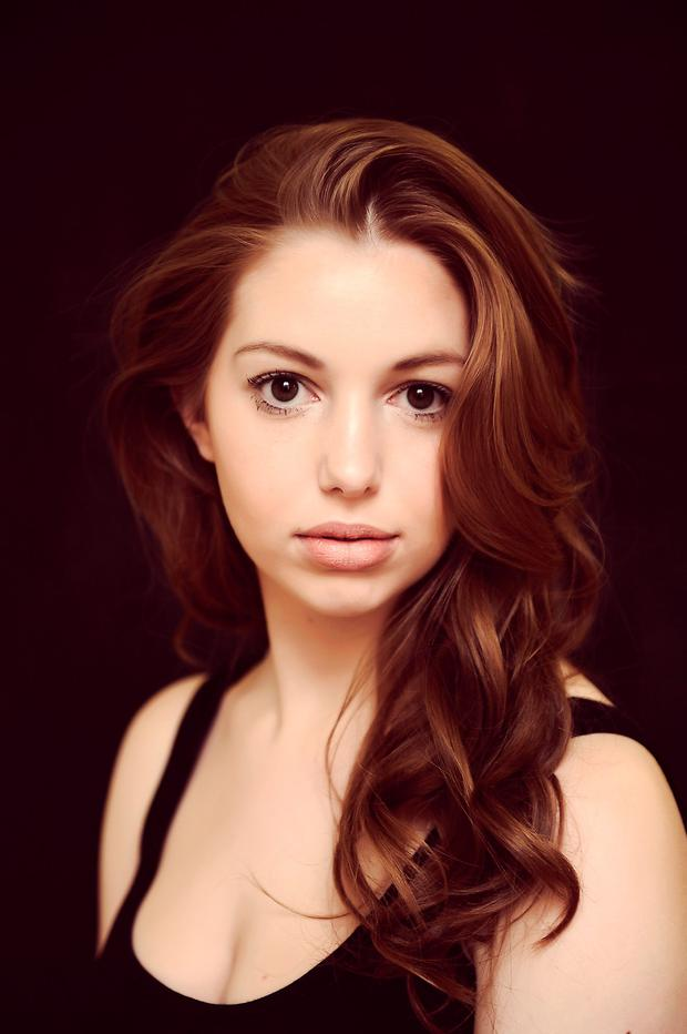 A DATE WITH DESTINY: Seana Kerslake is set to become a household name with roles in a new movie and TV series