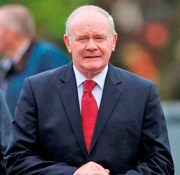 Martin McGuinness. Photo: Niall Carson/PA Wire