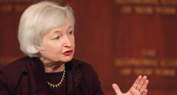 Head of the Federal Reserve Janet Yellen hinted that the next increase in US interest rates could be coming soon. Photo: Mark Lennihan