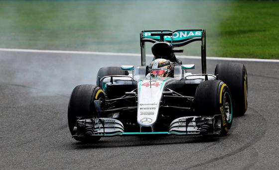 Hamilton storms back to steal third place in Belgian GP