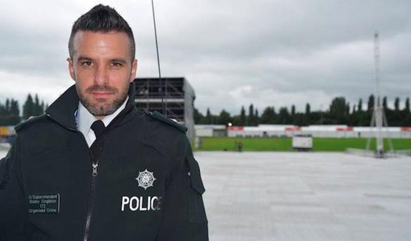 Bobby Singleton, a detective with the PSNI, went viral for his looks