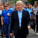 Michael Lowry at the Dublin v Kerry match in Croke Park. Photo: Gareth Chaney Collins