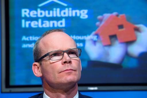 Locals in Ringsend will present their plans to Housing Minister Simon Coveney. Pic: Colin O'Riordan