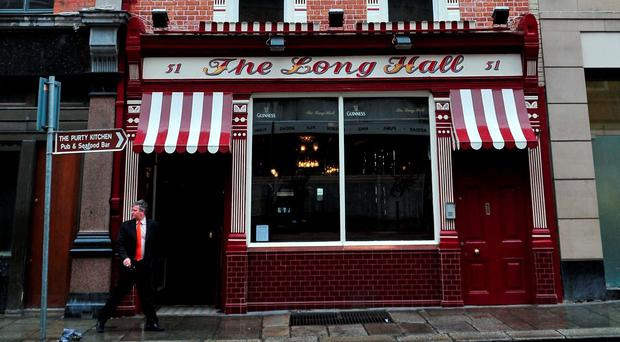The Long Hall, Great South Georges Street, Dublin 2. Pic: Doug O'Connor