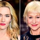 Kate Winslet (left) and Dame Helen Mirren are among the stars who have posed for Pirelli's 2017 calendar. Photo: Ian West/PA Wire