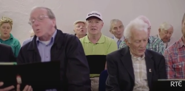 Tommy McCormack from Naas is living with dementia. Photo: RTE