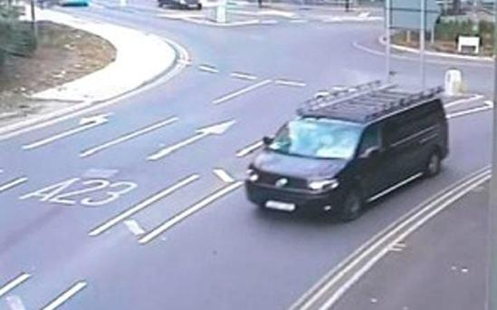 The reports of a 'child abduction', sparked a huge police search Credit: Surrey Police