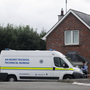Garda technical officers attend the scene at Oakdene, Barconey, Ballyjamesduff in Cavan