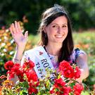 Newly-crowned Rose of Tralee Maggie McEldowney. Photo: Frank McGrath