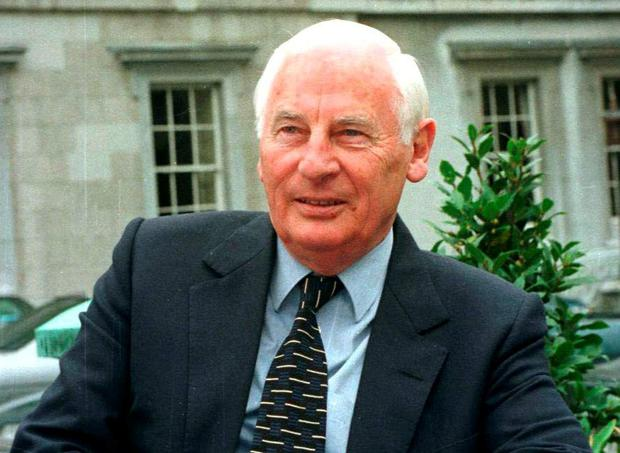 Former Tanaiste Peter Barry. Picture: Billy Higgins