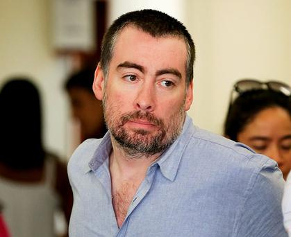 Kevin Mallon has been released from prison but Brazil is continuing to hold his passport. Pic Steve Humphreys