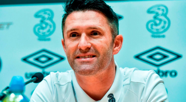 Robbie Keane says he wants to be involved with the international side at some stage. Photo by David Maher/Sportsfile