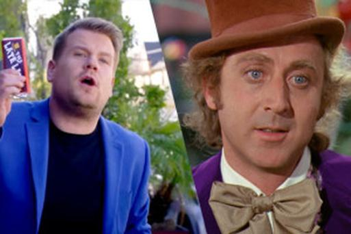 James Corden has spoken affectionately of Gene Wilder