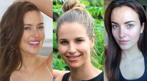 (L to R) Roz Purcell, Vogue Williams and Holly Carpenter