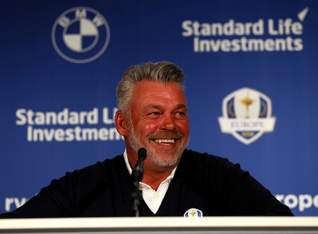 No Irish golfers included in wildcard picks for Ryder Cup Team