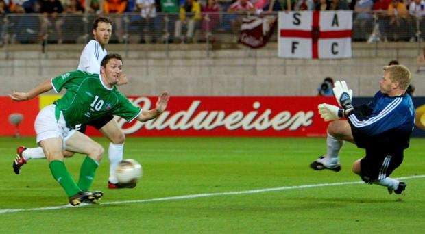 Ireland haven't qualified for a World Cup since 2002