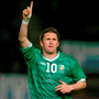 Robbie Keane may have been an international star but he never forgot his Crumlin roots. Photo: Sportsfile
