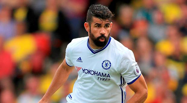 Diego Costa has admitted he wanted to leave Chelsea to return to Atletico Madrid this summer. Photo: PA