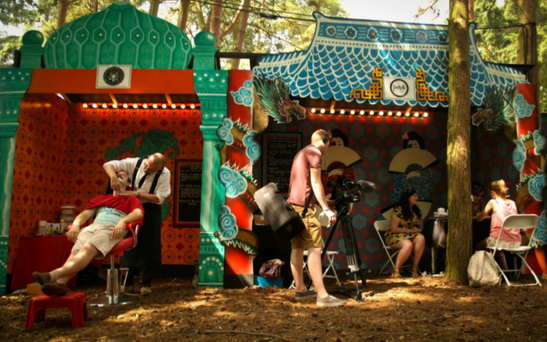 Pamper Street at Electric Picnic