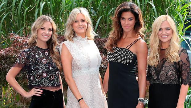 Xpose Presenters Ruth O'Neill, Cassie Stokes, Glenda Gilson and Karen Koster at TV3's Autumn launch at The National Concert Hall, Dublin. Picture: Brian McEvoy