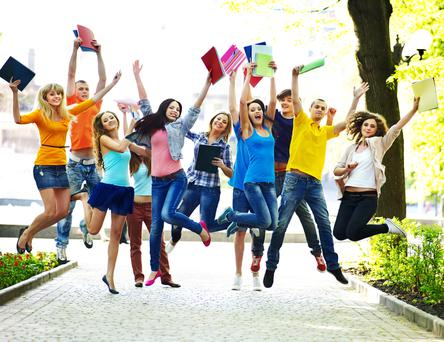 Almost 2,500 students are celebrating a college offer today after the CAO issued its second round (Stock photo)
