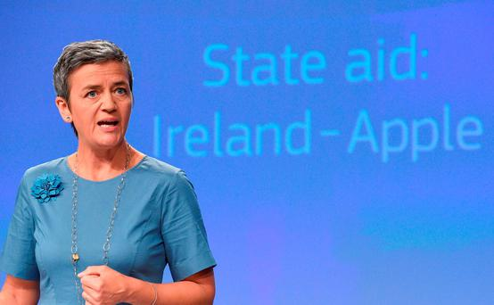 EU Competition Commissioner Margrethe Vestager Picture: Getty Images