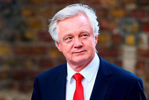 Brexit Minister David Davis. Photo: Gareth Fuller/PA Wire