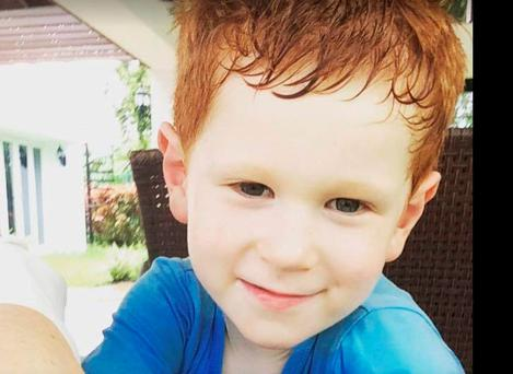 Finn McCarthy (4) who died in a tragic accident in Puerto Rico.