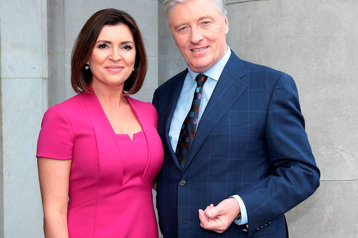 Pat Kenny and Colette Fitzpatrick. Picture: Brian McEvoy