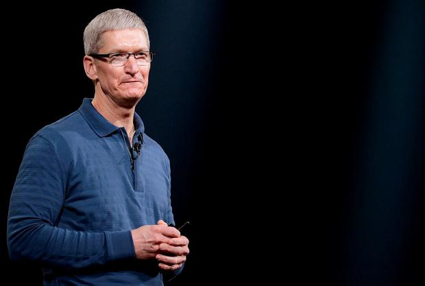 Apple CEO Tim Cook. (Photo by Kevork Djansezian/Getty Images)