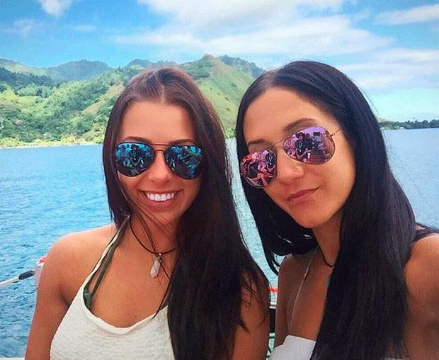 Melina Roberge, 23, and Isabelle Lagacé, 28