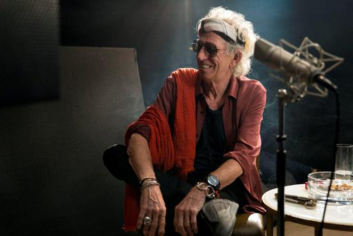 Keith Richards in the documentary Keith Richards - The Origin Of The Species. Photo: Jane Rose/BBC/PA Wire