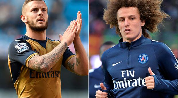 Wilshere and Luiz