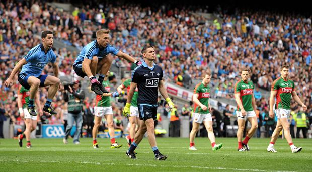 Alan Brogan has revealed that Dublin practiced the parade before the 2011 All-Ireland final